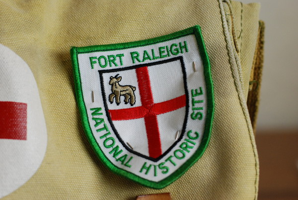 For Raleigh National Historic Site Souvenir Patch