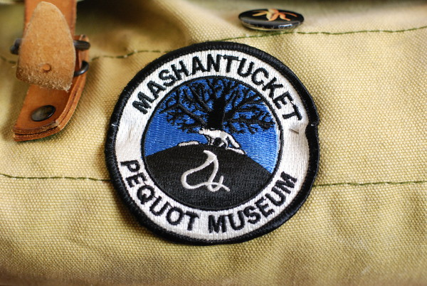 Mashantucket Pequot Museum Souvenir Patch