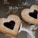 Christmas Cookies, Part 2: Linzer cookies