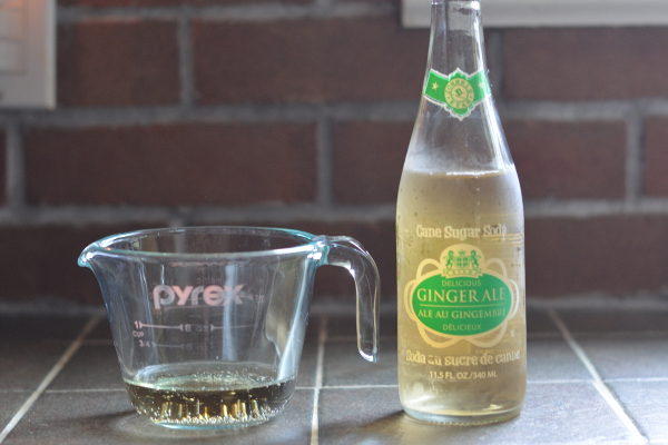 Ginger ale for homemade mandarin ginger