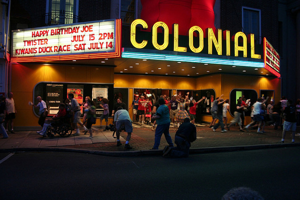 Blobfest at the Colonial Theatre