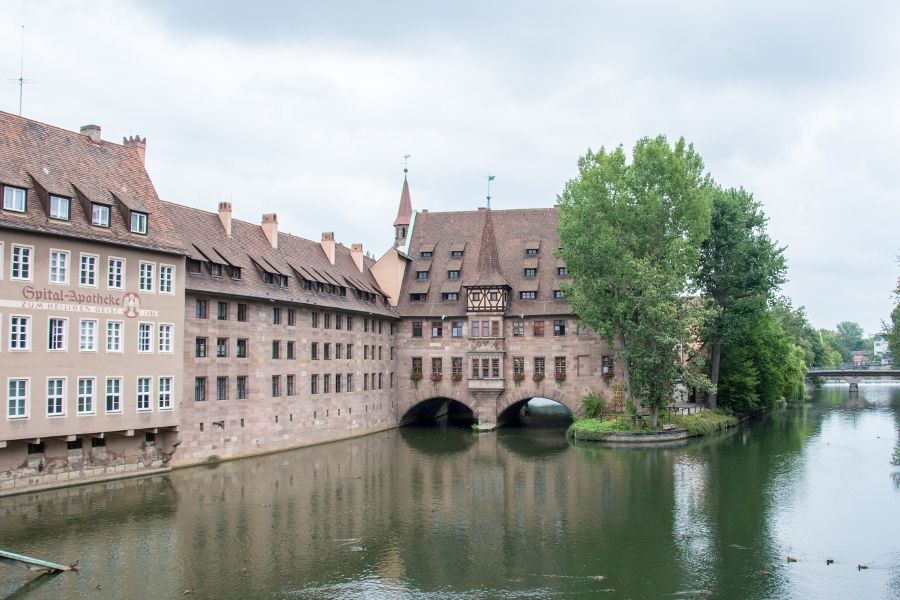 Heilig-Geist-Spital in Nuremberg, Germany.