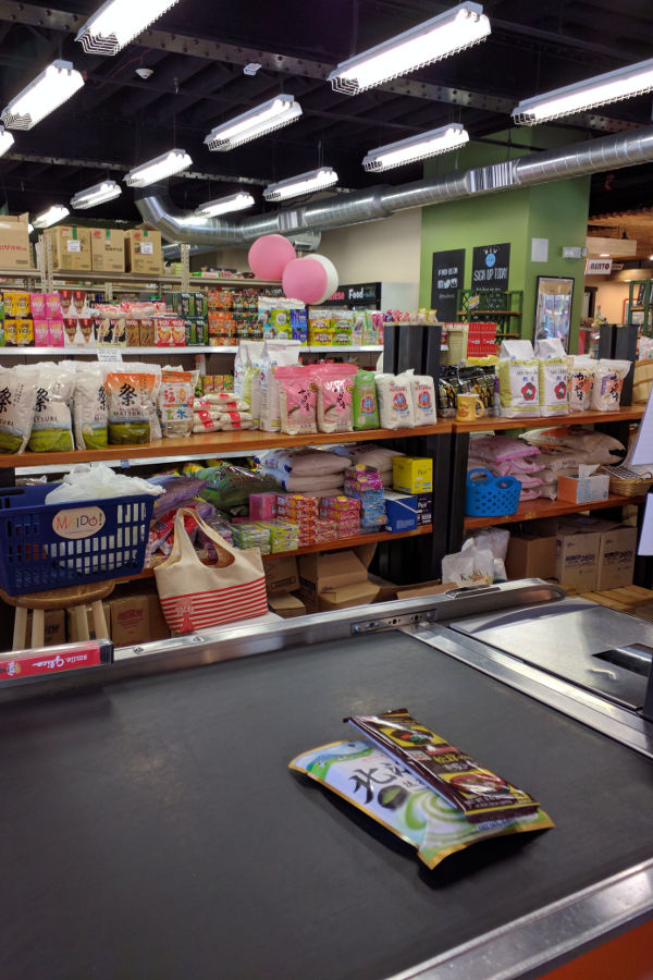 Maido Marketplace specializes in Japanese groceries.