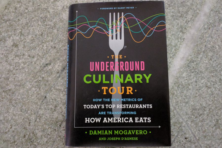 Book review of Damian Mogavero's The Underground Culinary Tour.