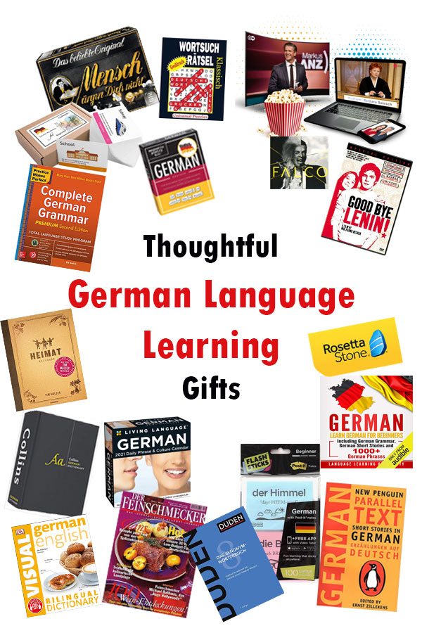 With more than a dozen German language learning gift ideas, show your support with a thoughtful gift to someone special, no matter their skill level!