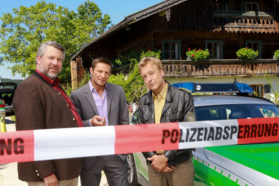Rosenheim Cops are one of many tv shows set in Munich and Bavaria!